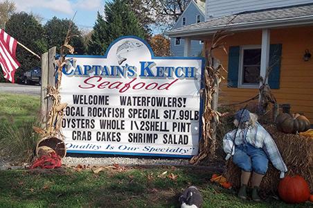 Captain's Ketch Outside